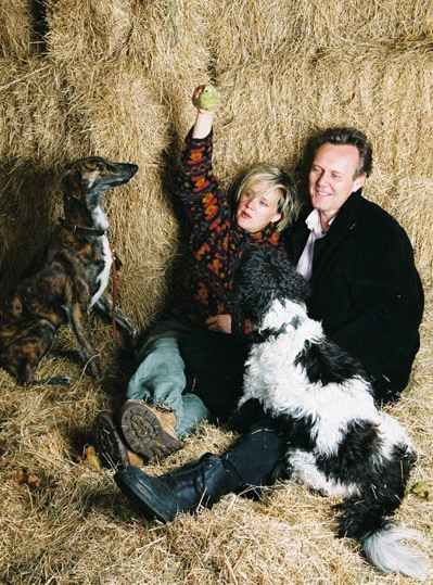 Anthony Head  and Sarah Fisher