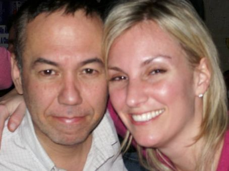Gilbert Gottfried  and Dara Kravitz
