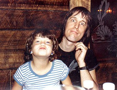 Todd Rundgren  with a young Liv Tyler