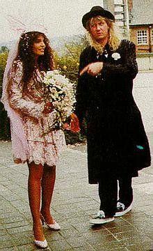 Joe Elliott  and Karla Rhamdani