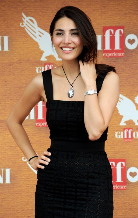 Caterina Murino - Giffoni Experience 2010 On July 26 In Giffoni Valle Piana, Italy
