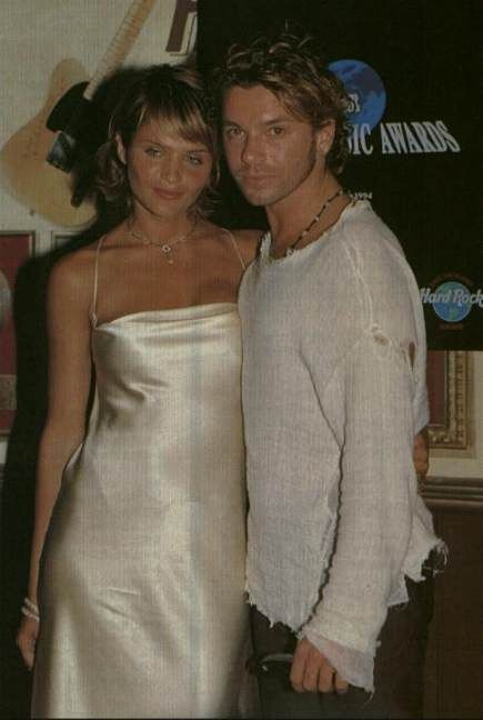Michael Hutchence Helena Christensen and