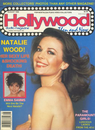 Natalie Wood - Hollywood Studio Magazine [United States] (August 1988)