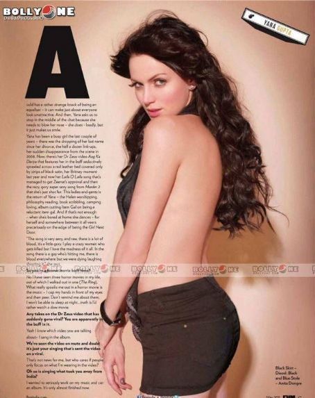 Yana Gupta FHM India May 2011