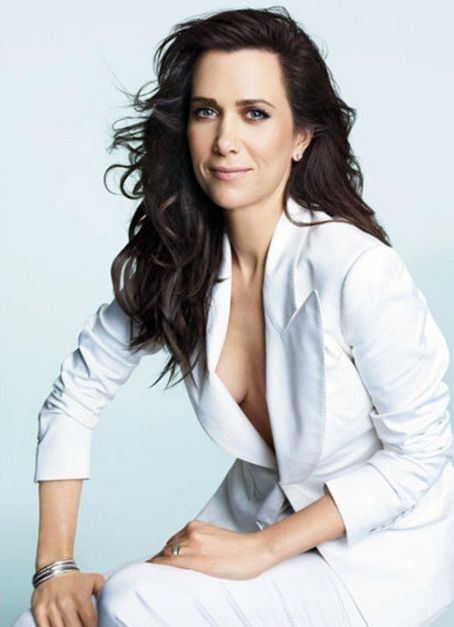 "She's transitioning into life after ""Saturday Night Live"" and Kristen Wiig was chosen to grace the cover of the August 2012 issue of Marie Claire magazine.  The 38-year-old comedic actress looked charming in a jacket and pants from Tom Ford and Bulgari je"