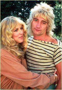 Rod Stewart  and Alana Stewart
