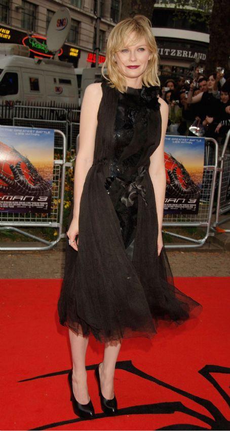 Spider-Man 3 Kirsten Dunst -  Premiere In London, UK