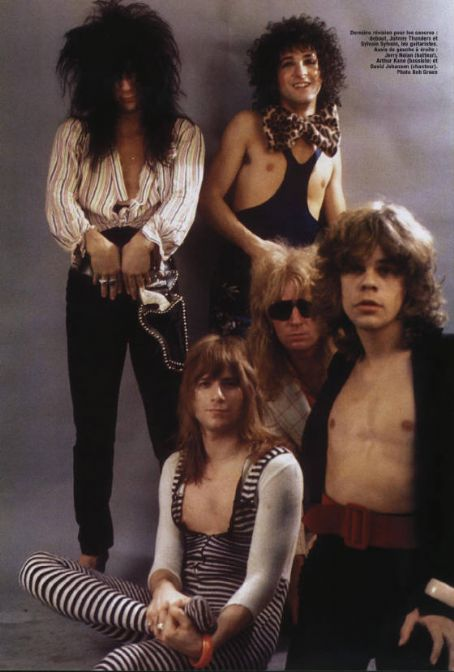 Arthur Kane Jerry Nolan and The New York Dolls