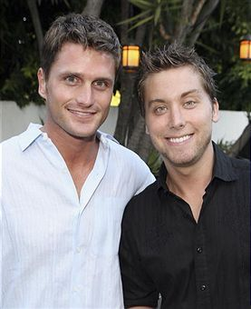 Lance Bass  and Reichen Lehmkuhl