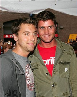 Reichen Lehmkuhl Lance Bass and