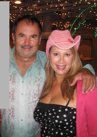 Rhonda Shear  and Van Fagen