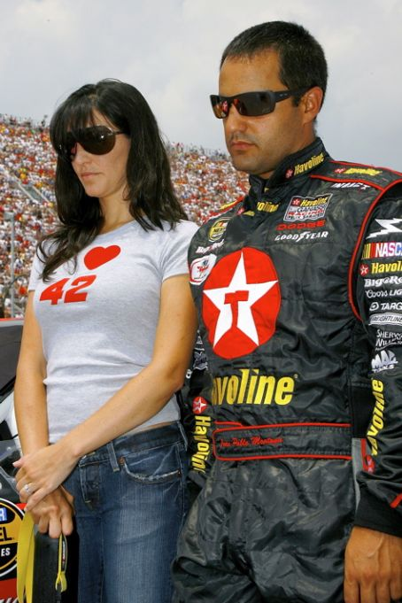 Juan Pablo Montoya Juan Montoya and Connie Fraydell