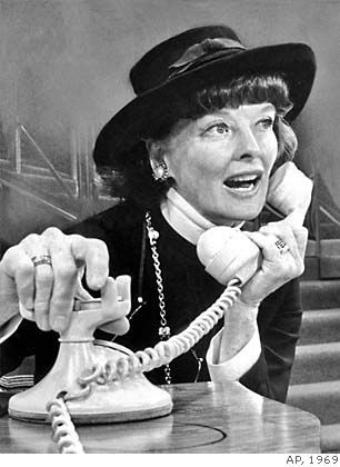 Coco Katharine Hepburn As CoCo Chanel In The 1969 Broadway Music ''CoCo