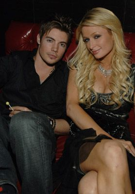Josh Henderson  and Paris Hilton