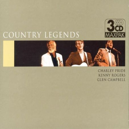 Country Legends: Charley Pride Kenny Rogers Glen Campbell - Glen Campbell