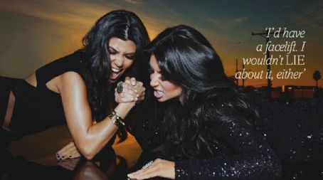 Kim Kardashian, Kourtney Kardashian - Fabulous Magazine Pictorial [United Kingdom] (30 January 2011)