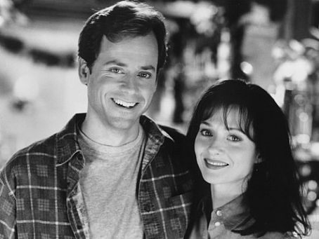 Greg Kinnear Maria Pitillo and  in Dear God (1996)