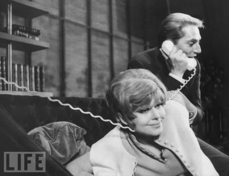 Barbara Harris BARBARA HARRIS, JOHN CULLUM, ON A CLEAR DAY YOU CAN SEE FOREVER, 1965 BROADWAY CAST.