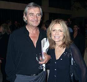Gloria Steinem  and David Bale