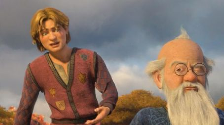 Eric Idle Artie (Justin Timberlake) and Merlin () in Paramount Pictures' Shrek the Third - 2007