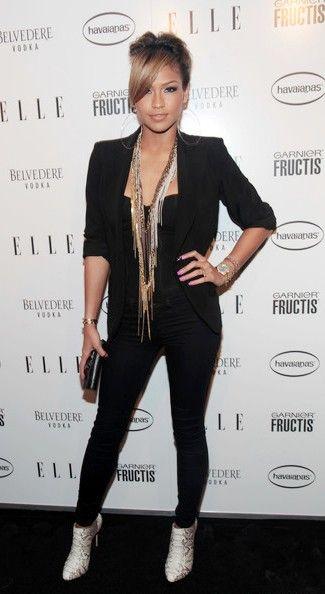 Fantastic Cassie Ventura Fashion And Style Cassie Ventura Dress Clothes Short Hairstyles For Black Women Fulllsitofus