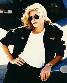 Kelly McGillis  in Top Gun (1986)