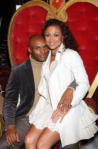 Chanté Moore Kenny Lattimore and Chante Moore