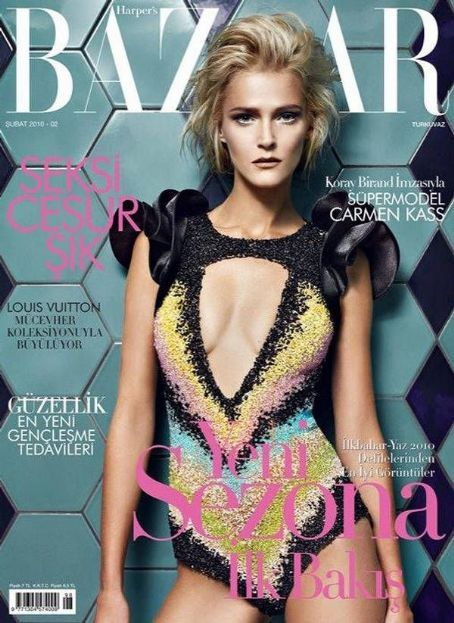 Carmen Kass - Harpers Bazaar Magazine [Turkey] (February 2010)