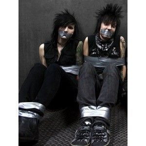 Black Veil Brides - Jinxx and Jake Pitts