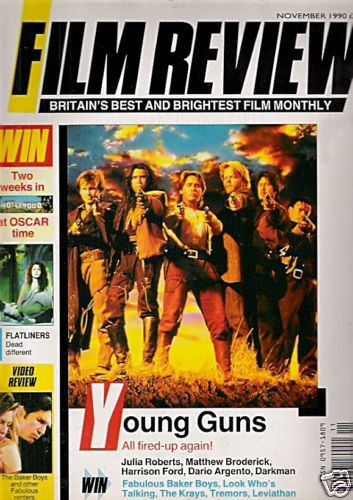Lou Diamond Phillips - Film Review Magazine [United Kingdom] (November 1990)