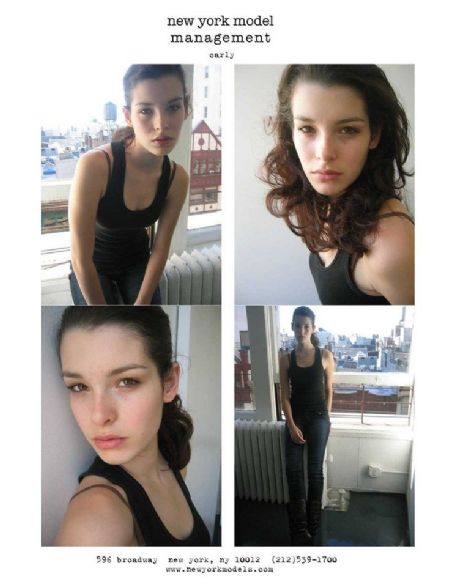 Carly Foulkes New York Model Management - Polaroid