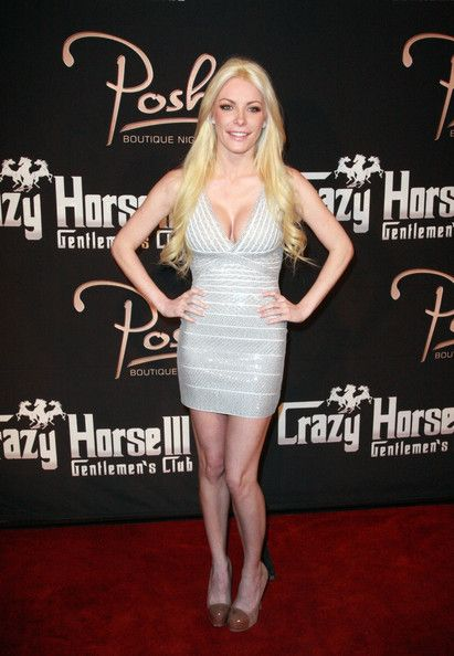 Crystal Harris makes an appearance at the Crazy Horse III and Posh Boutique night club in Las Vegas