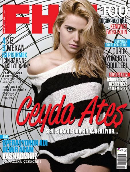 Okan Bayülgen Ceyda Ates FHM Turkey March 2012