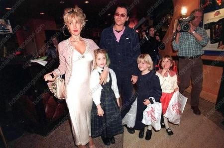 Peaches Geldof Michael Hutchence and Paula Yates