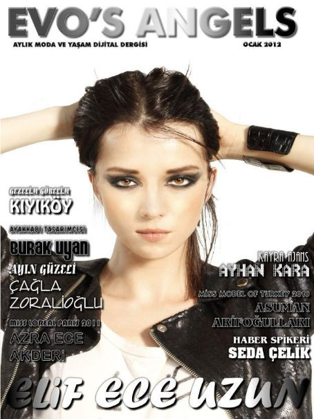 Elif Ece Uzun - Evo's Angels Magazine Cover [Turkey] (January 2012)