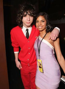 Adam G. Sevani Premiere of Step it up 2 with Danielle Polanco