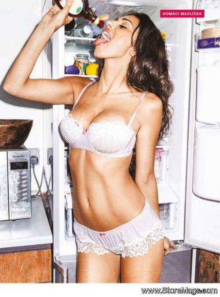 Georgia Salpa  - FHM Magazine Pictorial [Czech Republic] (July 2012)