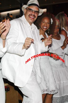 Donna Richardson  and Tom Joyner