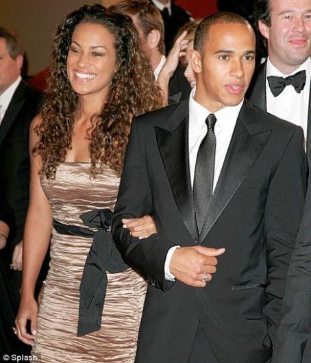 Lewis Hamilton  and Vivian Burkhardt