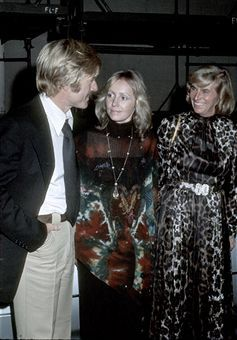Lola Van Wagenen  and Robert Redford