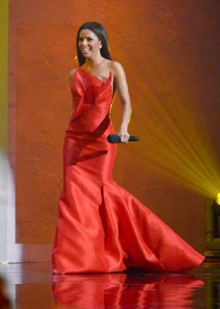 Eva Longoria  onstage at the 2012 NCLR ALMA Awards