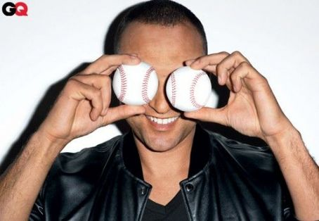 Derek Jeter Covers GQ April 2011