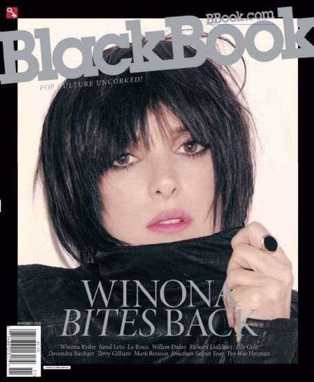 Winona Ryder - Black Book Magazine Cover [United States] (November 2009)