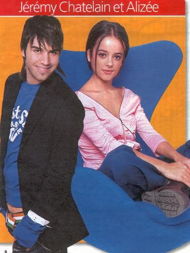 Alizée Alizee Jacotey and Jeremy Chatelain