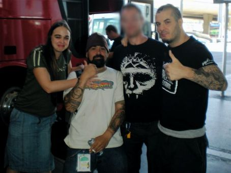 Kate Richardson , Jimmy Bower, fan, Philip Anselmo