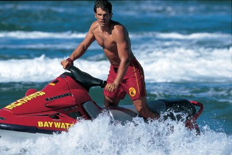 Baywatch Jason Brooks in