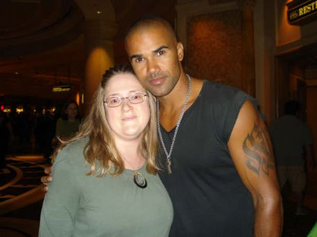 Shemar Moore Me and  at the Venetian in Vegas!