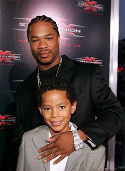 Xzibit  with son Tremaine