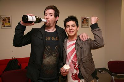 David Cook  and David Archuleta