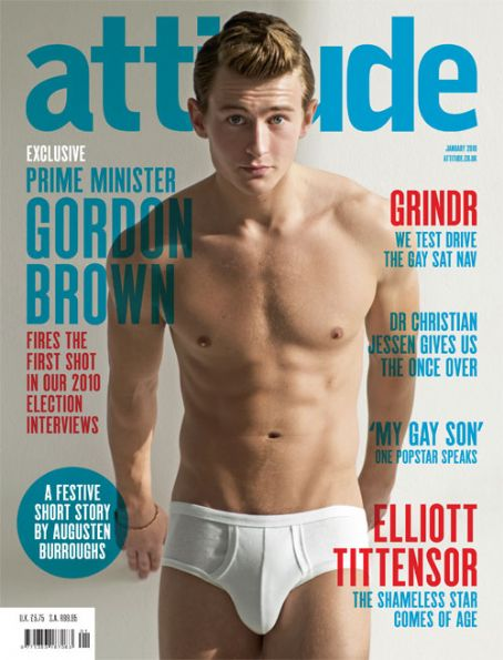 Elliott Tittensor Attitude Magazine Photoshoot